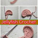 Crochet Applique Patterns Free Simple Crochet Jellyfish 14 Free Crochet Patterns Diy Crafts