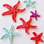 Crochet Applique Patterns Free Simple Flower Girl Cottage Free Starfish Crochet Pattern
