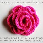 Crochet Applique Patterns Free Simple Free Crochet Patterns And Designs Lisaauch Free Crochet Flower