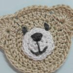 Crochet Applique Patterns Free Simple How To Make A Cute Crocheted Teddy Bear Application Diy Crafts