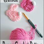 Crochet Applique Patterns Free Simple Simple Quick Bunny Crochet Pattern Sparkles Of Sunshine