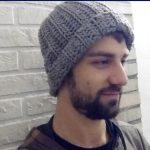 Crochet Beanies For Men Crochet Hat For Man Any Size Tutorial Youtube