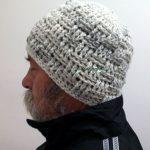 Crochet Beanies For Men Crochet Hat Man Gray Crochet Hat Crochet Hat Men Mens Hat Etsy