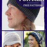 Crochet Beanies For Men Crochet Hats For Men Easy Crochet Patterns Stitch And Unwind