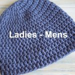 Crochet Beanies For Men Crochet How To Crochet A Simple Beanie For Ladies Mens Size 22
