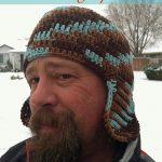 Crochet Beanies For Men Free Crochet Pattern Mens Earflap Hat