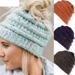 Crochet Beanies For Men Jaycosin Womens Hats Men Women Baggy Warm Crochet Winter Wool Knit