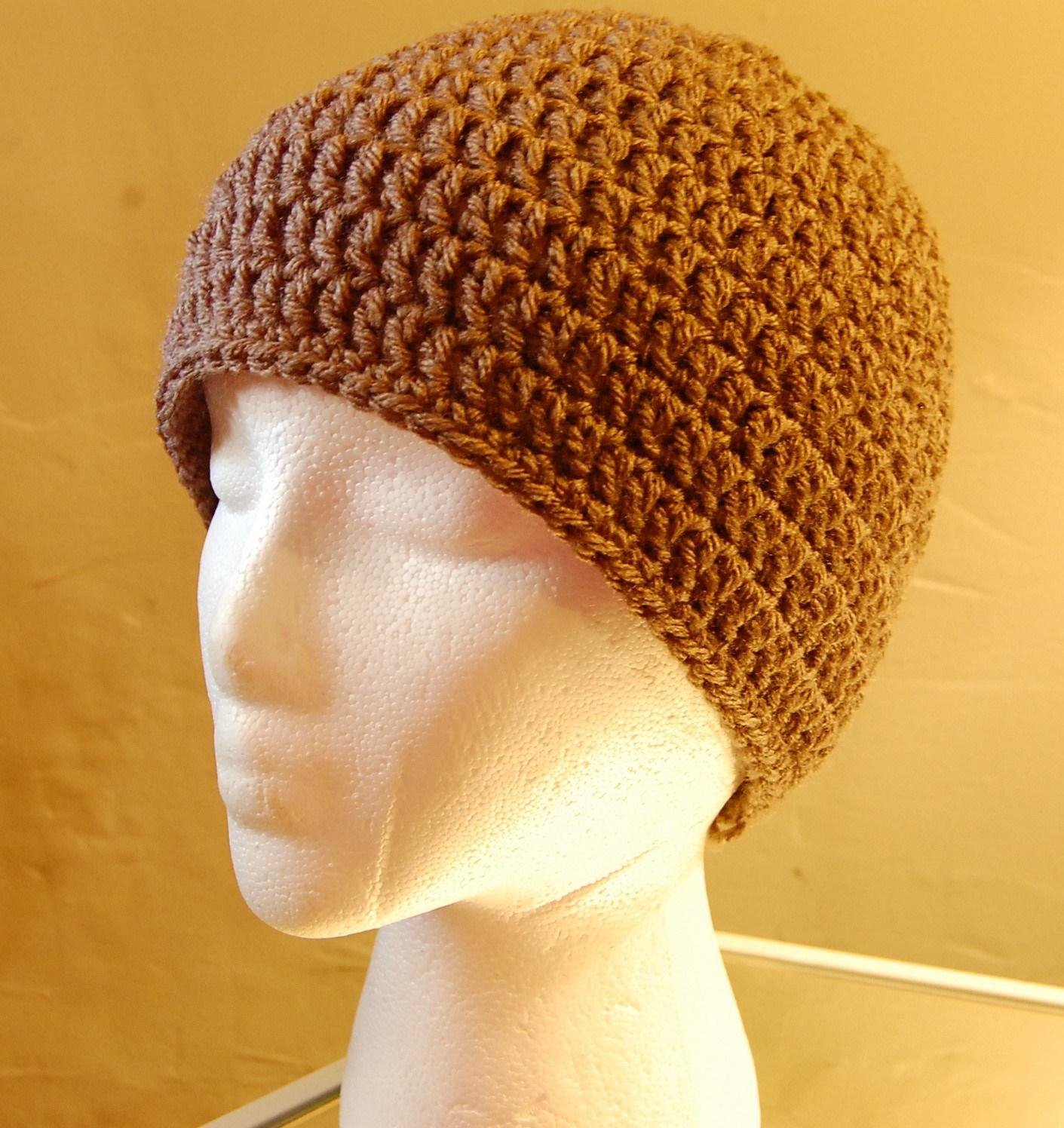 Crochet Beanies For Men Mens Crochet Hat Pattern Jjcrochet