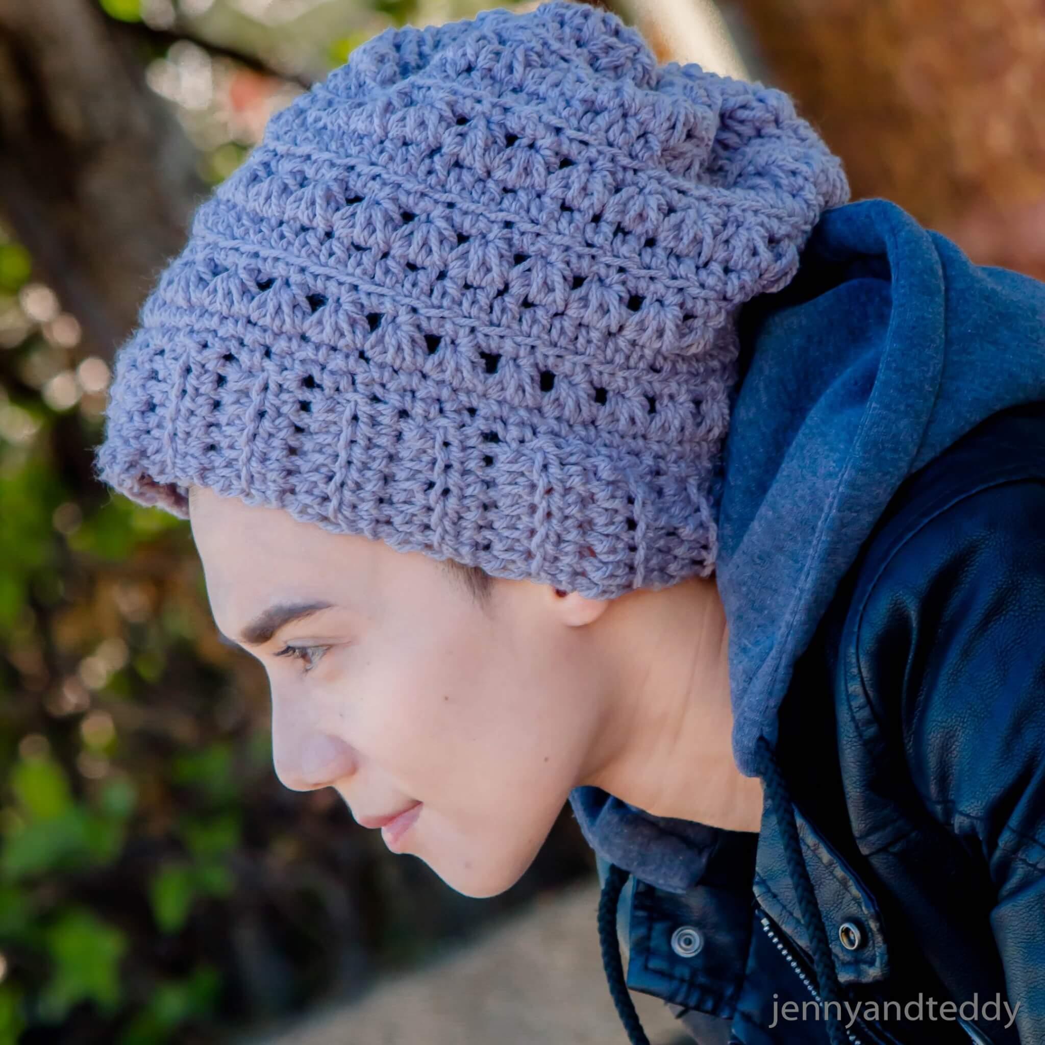 Crochet Beanies For Men The Newman Beanie Hat Free Crochet Pattern