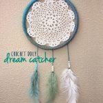 Crochet Dreamcatchers Free Patterns Crochet Doily Dream Catcher Repeat Crafter Me