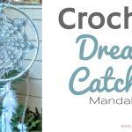 Crochet Dreamcatchers Free Patterns Crochet Dream Catcher Mandala Dorm Room Decor Diy Home Decor