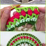 Crochet Dreamcatchers Free Patterns Crochet Dream Catcher Suncatcher Free Patterns