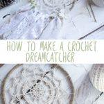 Crochet Dreamcatchers Free Patterns Crochet Dreamy Dreamcatcher Pattern Red Heart Patterns From