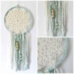 Crochet Dreamcatchers Free Patterns Diy Crochet Dream Catcher The Link For The Crocheted Center Is In