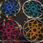 Crochet Dreamcatchers Free Patterns Home Away From Mom 2 Dreamcatchers