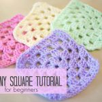 Crochet For Beginners Crochet How To Crochet A Granny Square For Beginners Bella Coco