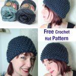 Crochet Hat Patterns Easy Crochet Hat Pattern Lucy Kate Crochet