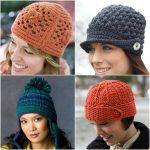 Crochet Hat Patterns Keep Cozy 12 Easy Free Crochet Hat Patterns Diy Candy