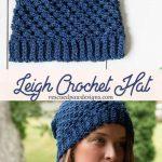 Crochet Hat Patterns Leigh Hatnothate Hat Crochet Pattern Free Crochet Beanie
