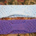 Crochet Headwarmer Free Pattern Complimentary Pattern Textured Headbandear Warmer The Cotton Gin