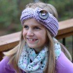 Crochet Headwarmer Free Pattern Free Crochet Pattern Knit Look Chunky Headwarmer Child A