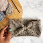 Crochet Headwarmer Free Pattern Free Easy Tunisian Crochet Headband Pattern