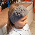 Crochet Headwarmer Free Pattern T Matthews Fine Art Free Knitting Pattern Headband Ear Warmer