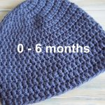 Crochet Infant Hat Patterns Crochet How To Crochet A Simple Ba Beanie For 0 6 Months Youtube
