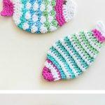 Crochet Kitchen Scrubbies Crochet Fish Scrubbie Washcloths Reusable Makeup Pads Pinterest