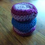 Crochet Kitchen Scrubbies Crocheted Scrub 17 Steps