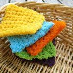 Crochet Kitchen Scrubbies Earth Friendly Cleaning With Crochet Scrubbie Patterns