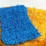 Crochet Kitchen Scrubbies Easy Crochet Dish Scrubbies 4 Steps