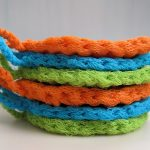Crochet Kitchen Scrubbies Mr Micawbers Recipe For Happiness Micawber Scrubbies A Short