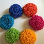 Crochet Kitchen Scrubbies Set Of 12 Crochet Large Dish Scrubbies Kitchen Scrubbies Nylon