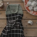 Crochet Kitchen Towel Toppers Amazing Christmas Lace Kitchen Hanging Hand Towel With New Free