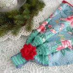 Crochet Kitchen Towel Toppers Apple Blossom Dreams Towel Topper Pattern Published