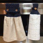 Crochet Kitchen Towel Toppers Crochet Towel Toppers