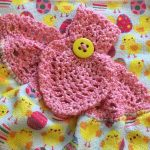 Crochet Kitchen Towel Toppers Easter Crochet Top Towel Doily Towel Topper Hanging Dish Etsy
