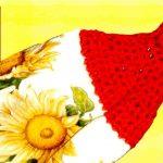 Crochet Kitchen Towel Toppers How To Make Crochet Knit Towel Topper Tutorial Crochetgeek Tjw1963