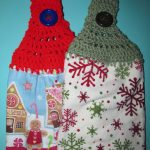 Crochet Kitchen Towel Toppers Simply Crochet And Other Crafts Towel Toppers