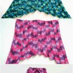 Crochet Mermaid Tail Pattern 22 Free Crochet Mermaid Tail Blanket Patterns Free Crochet