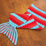 Crochet Mermaid Tail Pattern Creative Crochet Becky Crochet Mermaid Tail Afghan Blanket