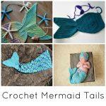 Crochet Mermaid Tail Pattern Crochet Mermaid Tail Blankets Props For Kids Adults