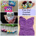 Crochet Patterns Free 7 Hoot Worthy Free Crochet Owl Patterns
