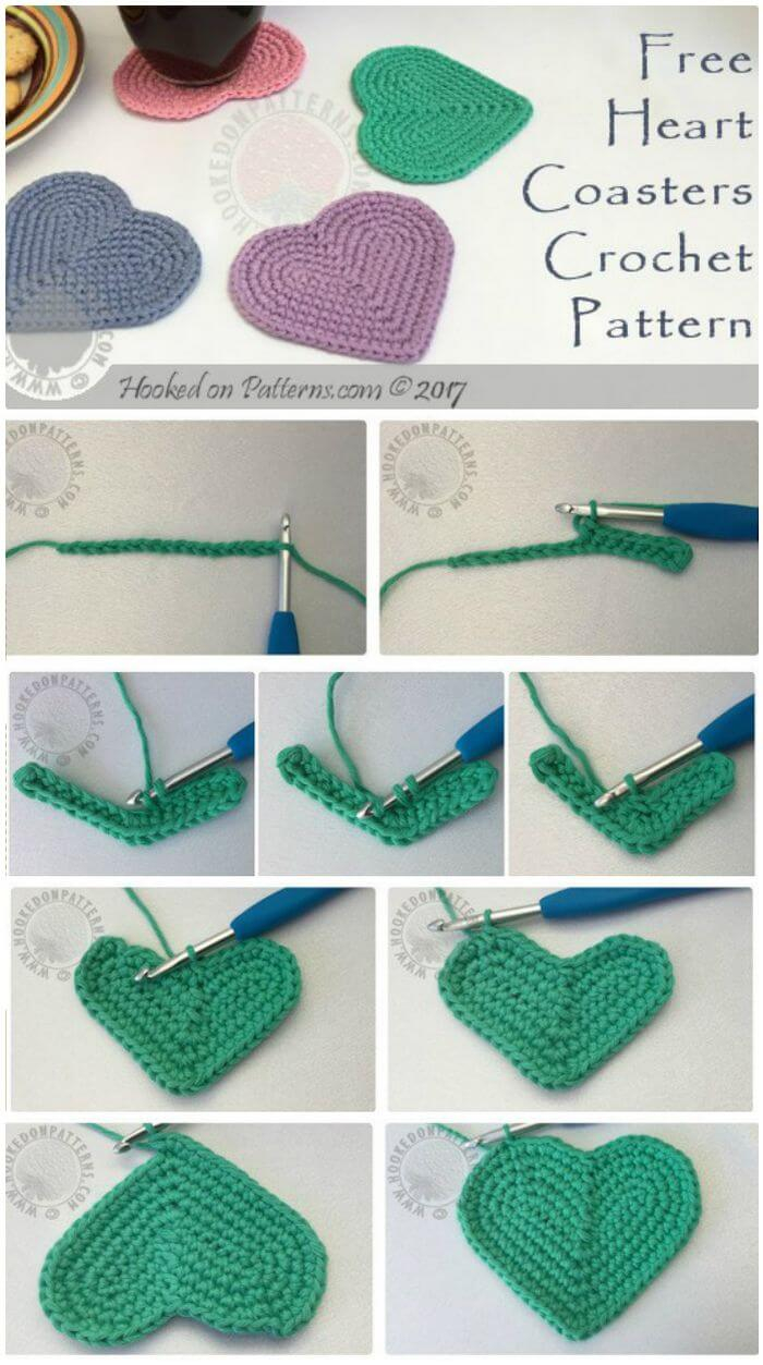 Crochet Patterns Free 70 Easy Free Crochet Coaster Patterns For Beginners Diy Crafts