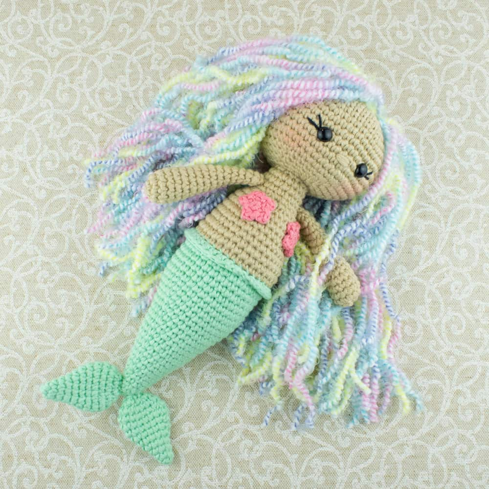 Crochet Patterns Free Aurora Mermaid Amigurumi Pattern Amigurumi Today