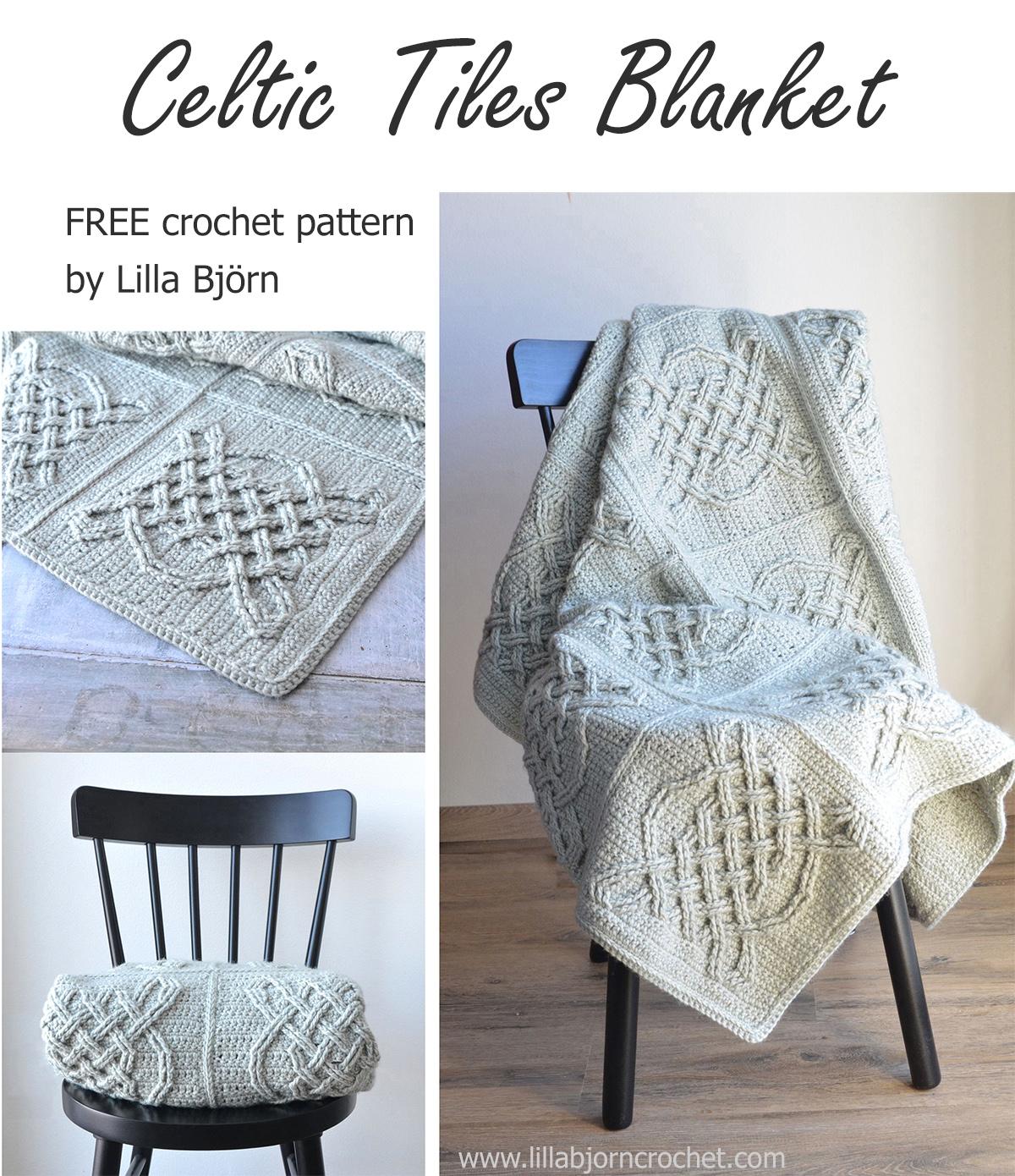 Crochet Patterns Free Celtic Tiles Blanket Free Overlay Crochet Pattern Lillabjrns
