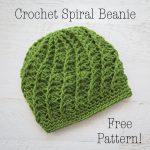 Crochet Patterns Free Crochet Spiral Beanie Free Crochet Pattern Loganberry Handmade