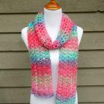 Crochet Patterns Free Fiber Flux Free Crochet Patternisland Lace Scarf
