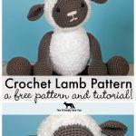 Crochet Patterns Free Free Crochet Pattern For Crochet Lamb Thefriendlyredfox